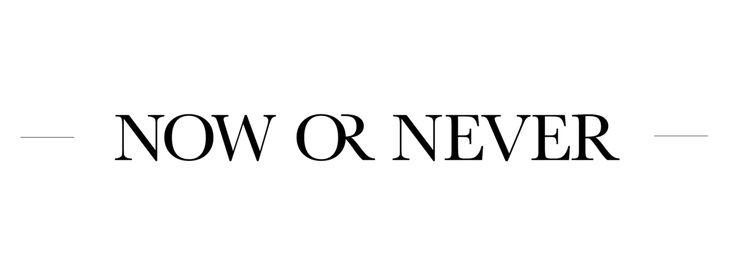 Now or Never lingerie - logo design