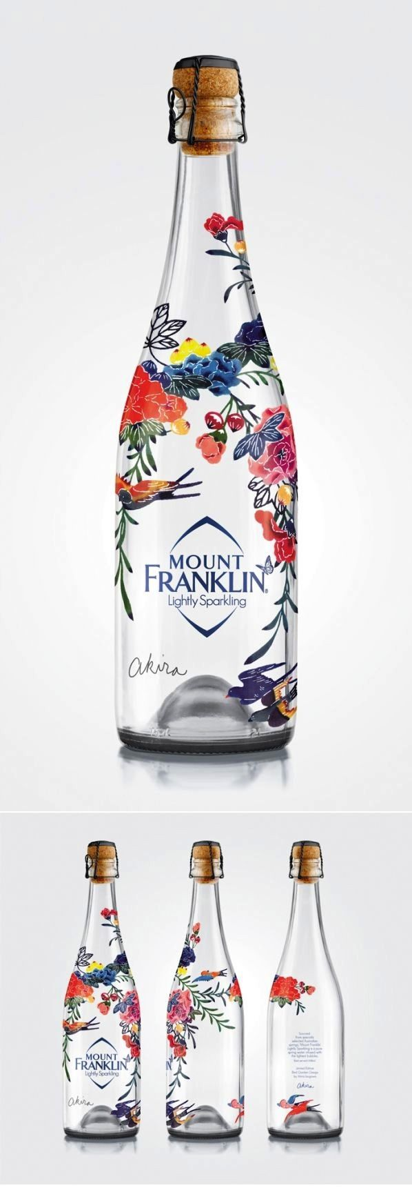 Mount Franklin Lightly Sparkling – Has a sense of occasion for premium water in high-end restaurants