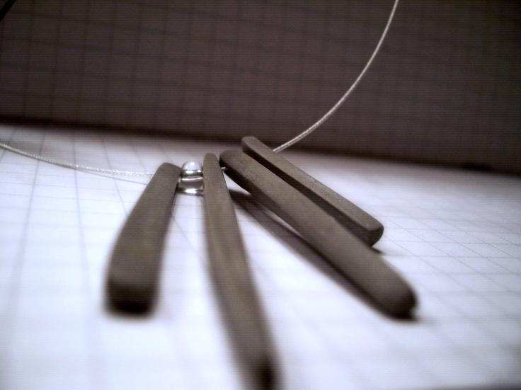 Concrete Icicles - Necklace
