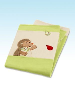 Hedgehog Cuddle Blanket | Nursery Furniture | Baby Accessories Ireland | Cribs.ie