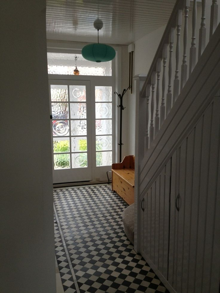 Lovely Hall Restoration Of A 1930s House Floors Tiled