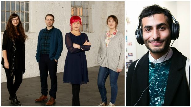 Artists to watch in 2017 (left to right): Susanne Wawra, Kevin Gaffney, Elaine Hoey and Lucy McKenna; Bassam Al-Sabah