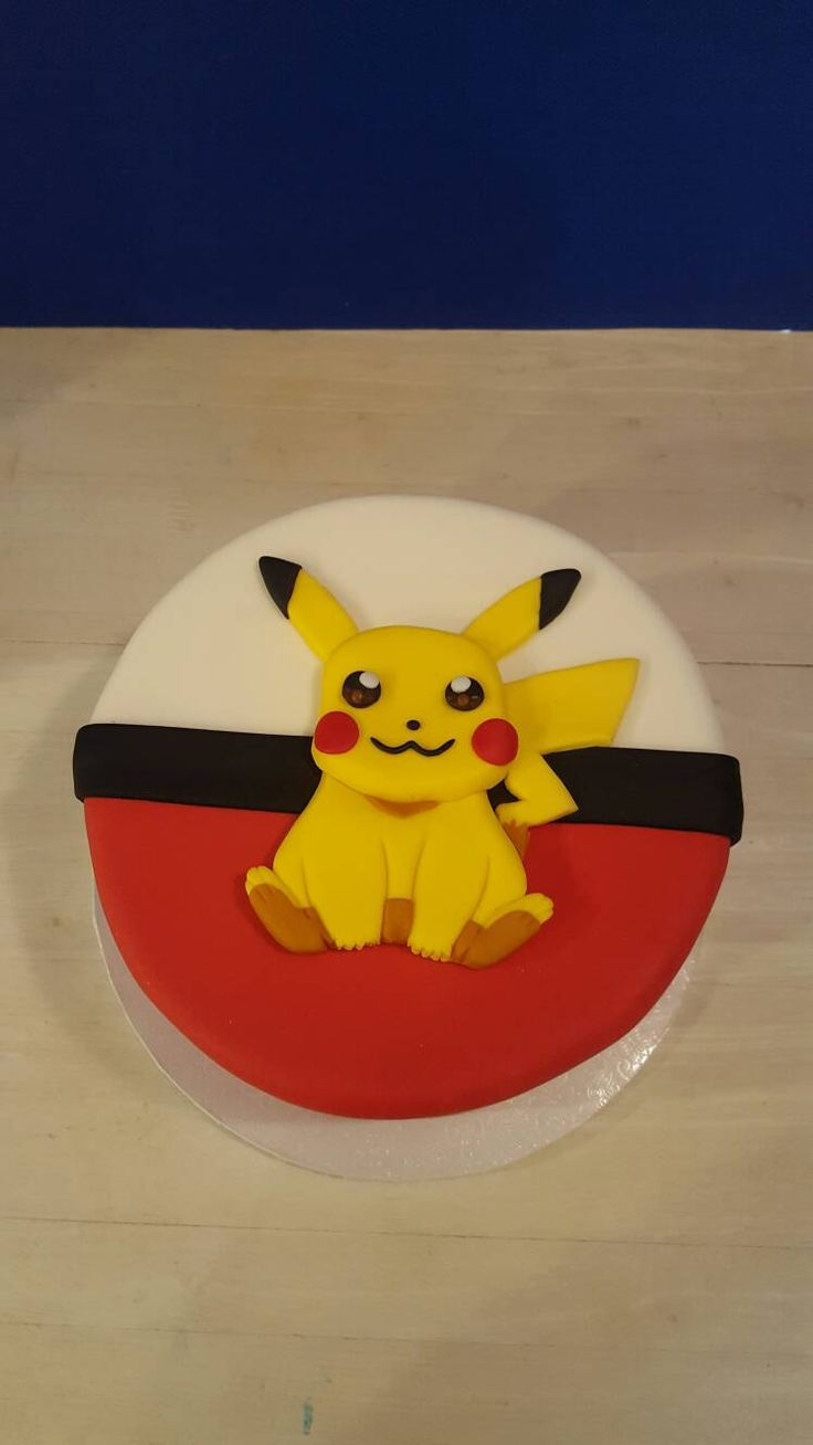 Pikachu approximately 6 inches big. Shown on an 8 inch cake. The size can be adjusted please message me if you need a different size or different pokemon. Multiple orders does not mean multiple shipping charges please message me if you are having a problem.