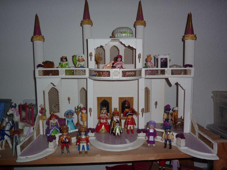 chateau de princesse pour playmobil