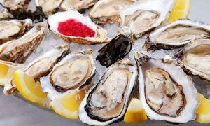 Groupon - $ 27.50 for $50 Worth of Seafood and Steak at Goldfish Oyster Bar & Restaurant in Ossining. Groupon deal price: $27.50