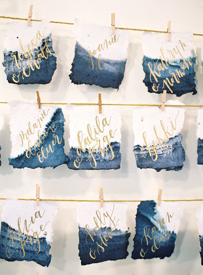 Paper (Invitations & Place Cards): Fabulous Fancy Pants/ Calligraphy: Bride - Rebecca and Brett's wedding day at The 1909 by MB Emerald Events (Event Coordination) + Christine Donee (Photography) - via Grey likes weddings