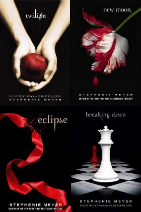 I hate to admit it...I love the Twilight books...