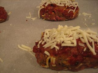 Meatloaves! (sorry for the dark pics tonight) A classic American dish with more varieties than Heinz 57 (yes, a shameless plug for my hometown!). These individual-sized meatloaves cooked up significantly faster than a large traditional meatloaf and the seasoning mix made them taste like huge meatballs! An additional benefit is having leftovers ready to go …