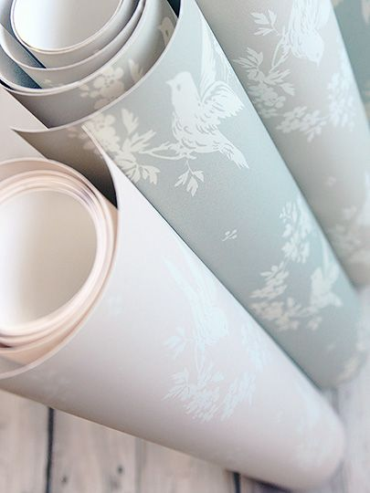 Birdsong Wallpaper by Peony & Sage
