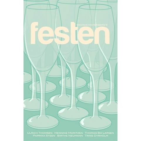Festen, or The Celebration, inches movie poster. via Etsy.
