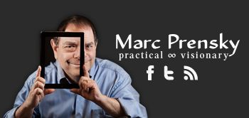 Marc Prensky is a renowned educator speaker and writer.  He focuses much of his time on gaming and gamification in education.