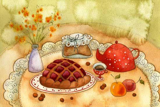 Пирог для влюблённых