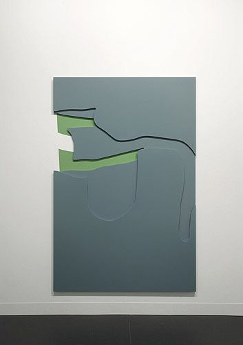 Arturo HerreraRight Back. 2006Painted wood and wall painting183 x 122cm  VIA MORE