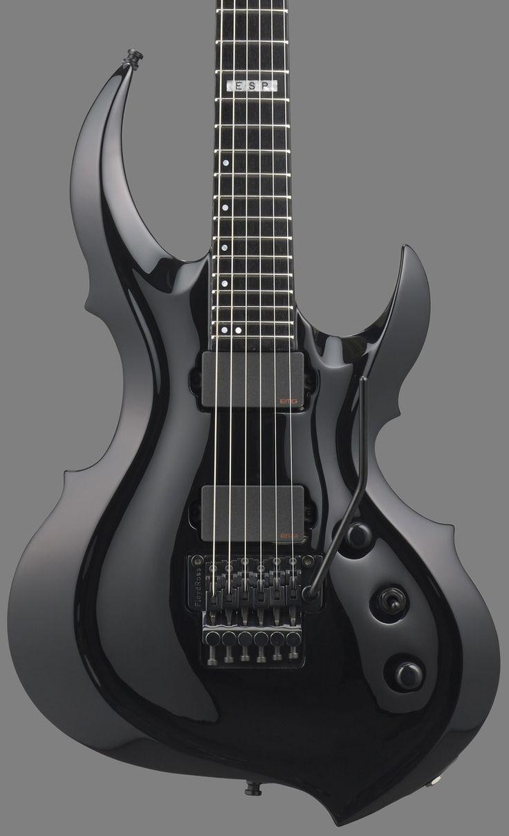 ESP E-II FRX Black Electric Guitar