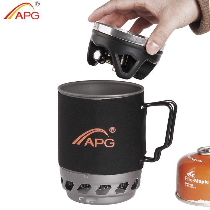 APG bruciatori a gas da campeggio portatile sistema e Sistema di cottura di campeggio stufa a gas flueless