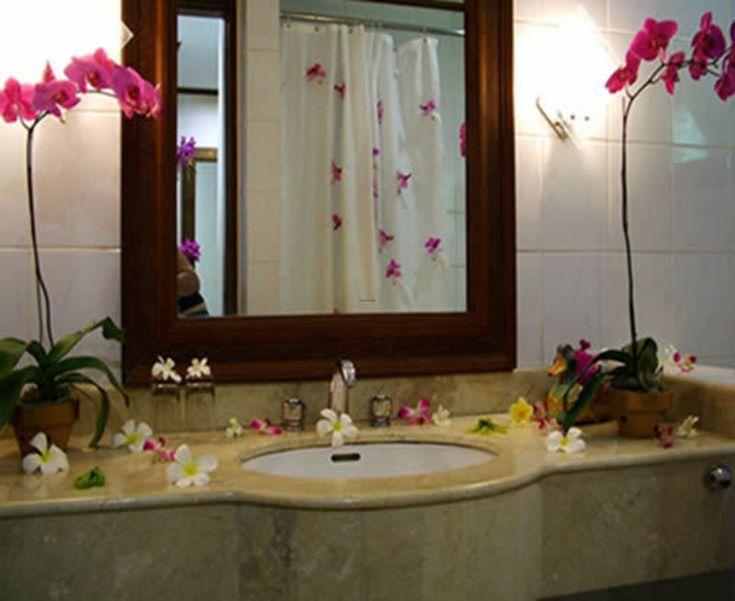 95 best romantic baths images on pinterest bathroom for Romantic bathroom designs