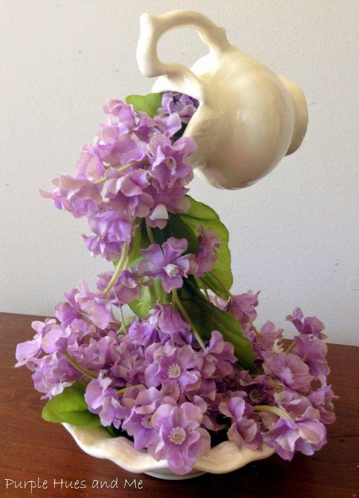 Viola Hues e me: April Showers, Scorrere fiori fai da te