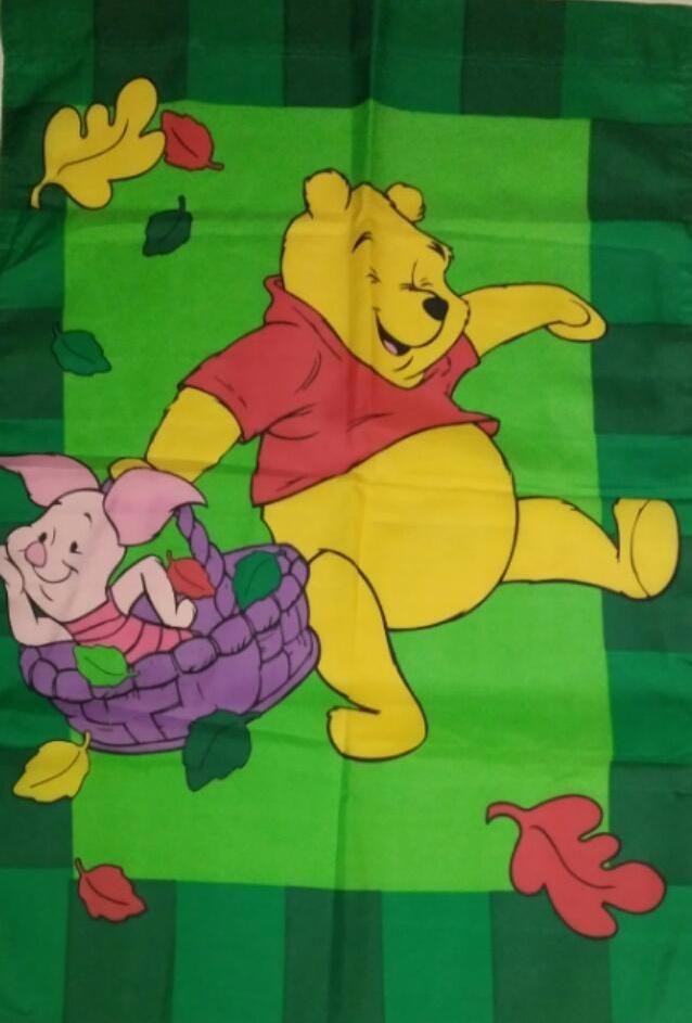 Winnie The Pooh & Piglet Fall Flag   Fall flags, Winnie ...