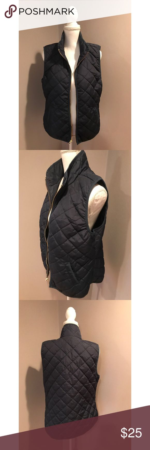 Old Navy Quilted Barn Vest - L - EUC! Old Navy Quilted Barn Vest. Size L. Navy blue. Side pockets. In excellent condition! From a smoke-free home as well. No trades. Firm price! Bundle for a discount! Old Navy Jackets & Coats Vests