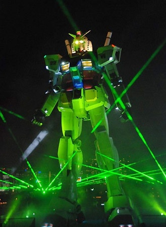 Full scale Gundam is at Tokyo!!