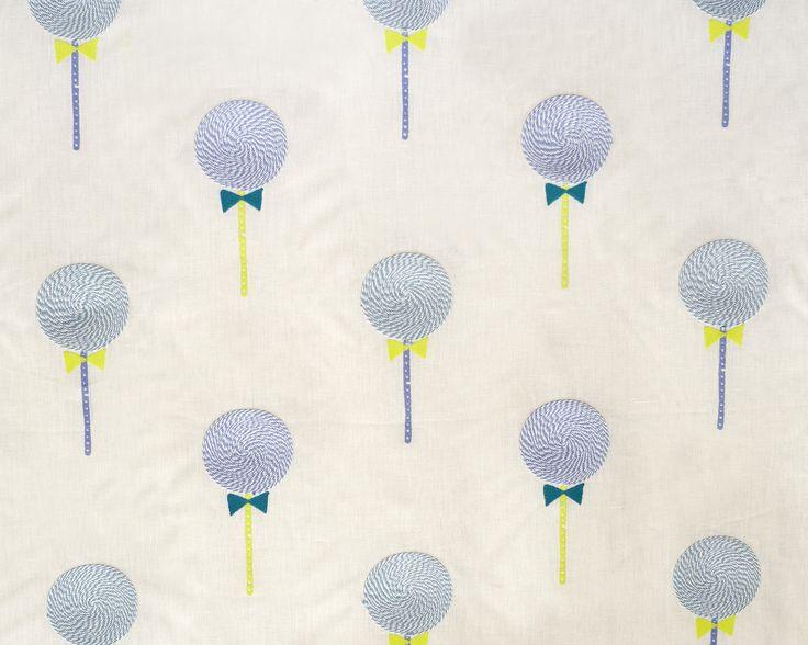 Lollipops Fabric - Color Cool Party