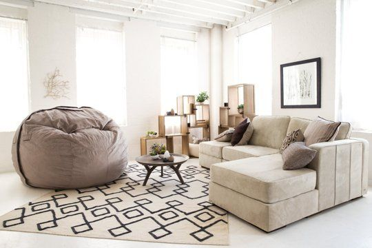 Excuse Me While I Take a Nap on This Comfy Couch — Lovesac | Apartment Therapy Completely take apart break apart and re-arrange couches!