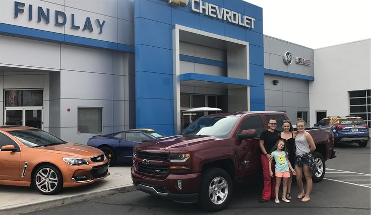 Angela, we hope you enjoy your new 2017 CHEVROLET SILVERADO.  Congratulations and best wishes from Findlay Motor Company and JAMES ZABORSKY.