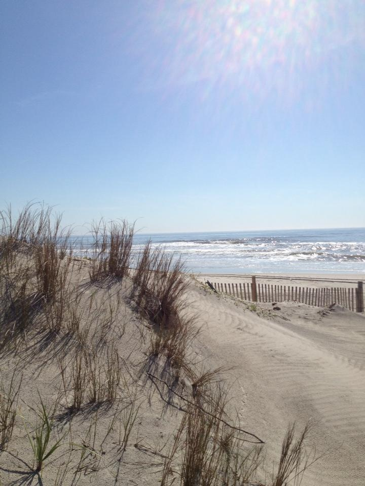 No matter what other beach in the world you go to this will always be home.  Stone Harbor, NJ beach
