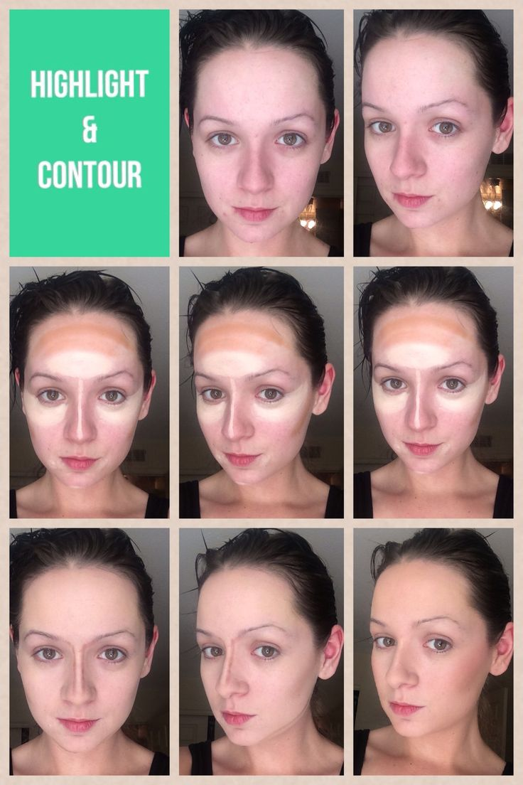How To Highlight & Contour Using Creams And Anastasia Beverly Hills Contour  Kit  Imgur