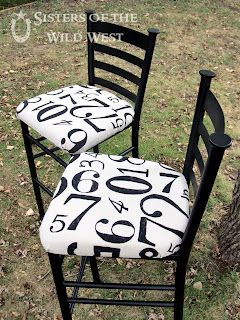 Fun chairs.  Maybe if I had my students sit in these, they could identify their numbers....NAAAAA, I'm sure not!