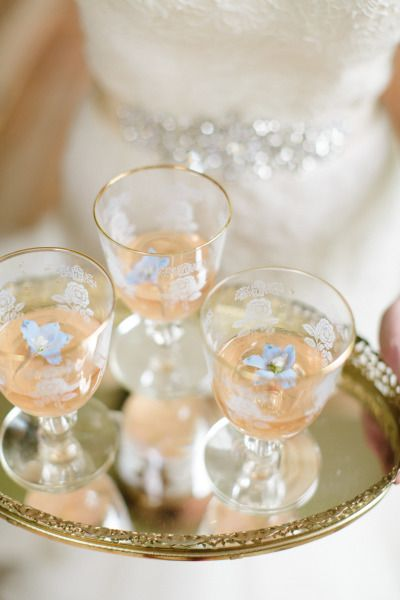 Garden wedding cocktails: http://www.stylemepretty.com/virginia-weddings/2014/09/22/southern-secret-garden-inspiration-shoot/ | Photography: Abby Grace - http://www.abbygracephotography.com/