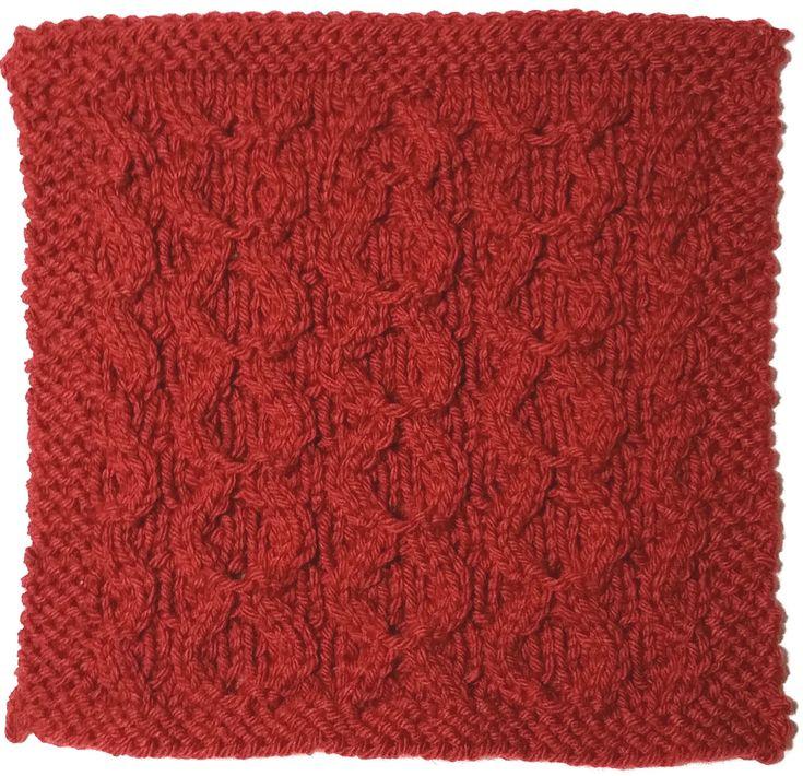 Knitting Infographic : Stitchology raised circles stitch tutorial loom