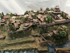 箕輪城模型(プラモデル)
