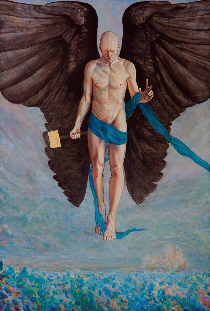 """Imagination"" 177 x 122 cm Oil on canvas 2013 of Per Pardorf"