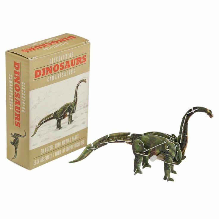 Le Diplodocus, ce dinosaure diplomatique, très gentil et très doux attend dans sa boîte d'être monté sur son remontoir mécanique afin de prendre vie ! 5,90 € http://www.lafolleadresse.com/bricolage/1067-diplodocus-a-monter-soi-meme.html