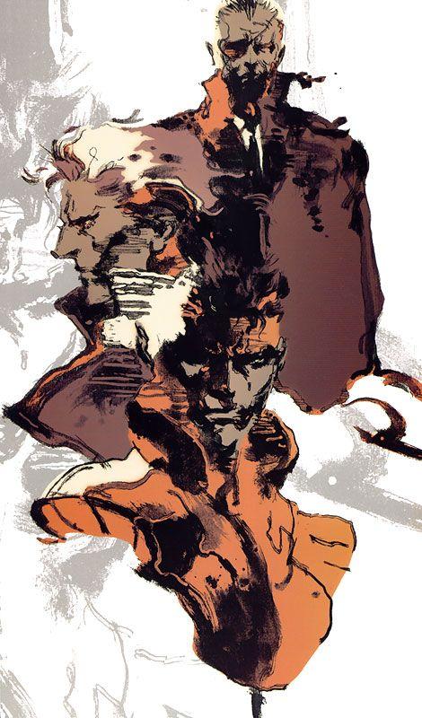 Snake, Liquid & Big Boss, Metal Gear Solid 1