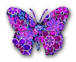 I absolutely love metal butterfly wall art. It is great for gardens, patios and even indoors in bathrooms, kitchens and hallways. Additionally, you can use butterfly home wall art décor in your bedroom. Overall this is beautiful, color and ever so cute #butterflies #wallart #homedecor   Next Innovations Steel Butterfly Wall Decor, Blossom