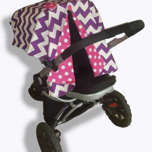 Purple chevron cr seat canopy 2 #chevron #stone #carseatcanopy #moocachoo #babyproduct #handcrafted #onlineshopping #mommy #pink #purple #pramcover #summermusthave