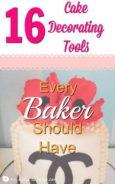How to make a cake decorating tool