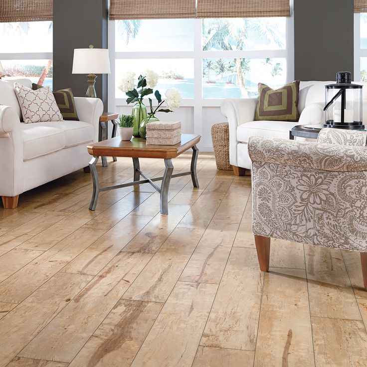 Get This Riverside Natural Laminate Hardwood Flooring | Shop RiteRug  Flooring | Living Room Ideas