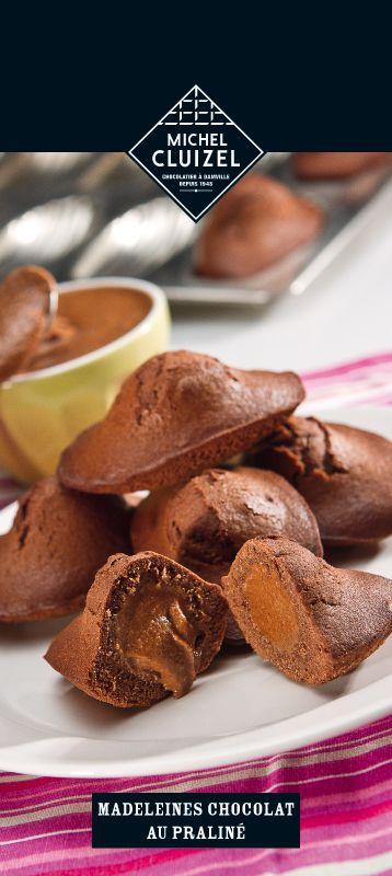 Madeleine Chocolate Praline (Michel Cluizel)