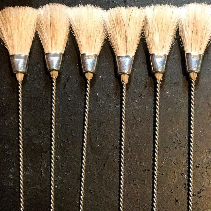 rustic kitchen pastry brushes