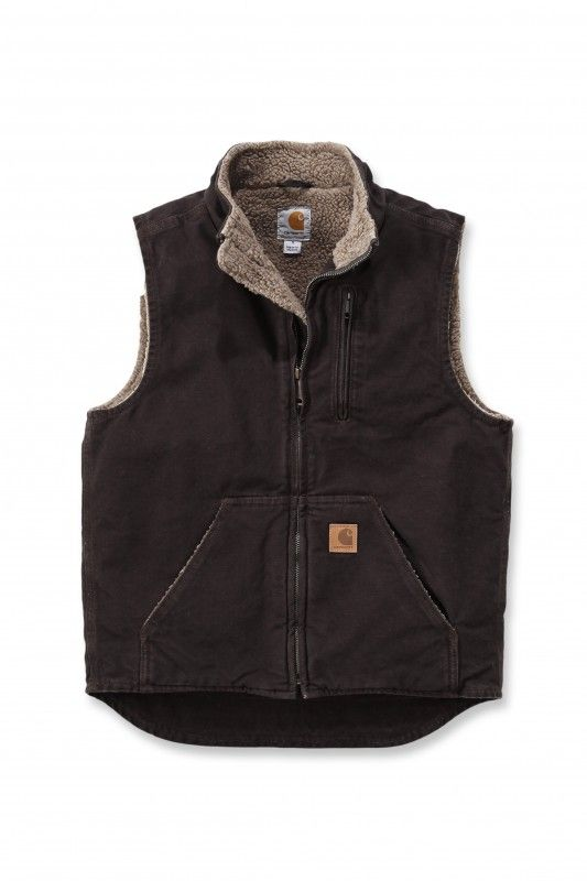 Carhartt Workwear V33 Mock Neck Vest black