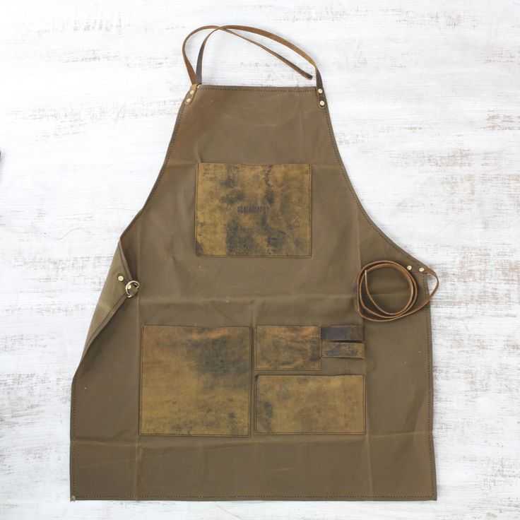 Leather and Canvas Aprons | by Scaramanga | http://www.scaramangashop.co.uk/Fashion-and-Furniture-Blog/leather-canvas-aprons-scaramanga/
