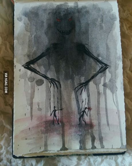 """Got a little inspired by Metallica's """"Master of puppets"""""""