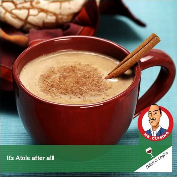Atole is an ancient Mexican beverage with origins in pre-Columbian times. You may find Mexican Atole's traditional version at dia de los muertos celebrations, and its chocolate version-champurrado- is popular at Christmas time, which I love the most! #DrinkOLogics #MrCuisino