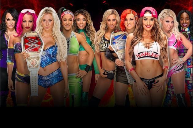 Team Raw Wins The Women's Match At WWE Survivor Series