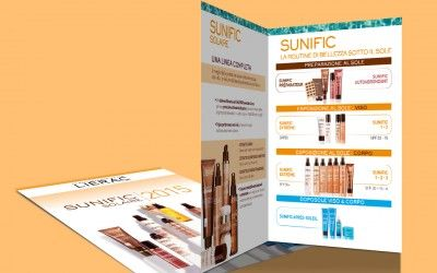 Lierac Sunific Folder