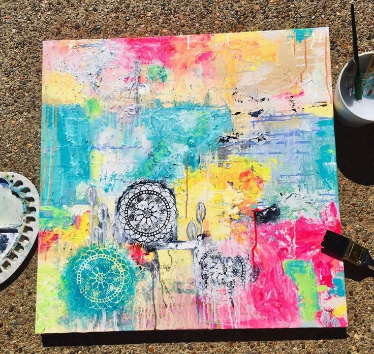 Louise is addicted to art supplies, her preferred mediums being watercolour, acrylic paint and texture pastes. With a great eye for colour, her beautiful abstract pieces are bright, textured and eye catching. See more of her work at https://www.instagram.com/lous_artstuff/