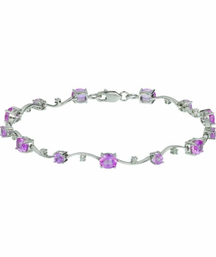 White Gold Diamond Bracelet Argos